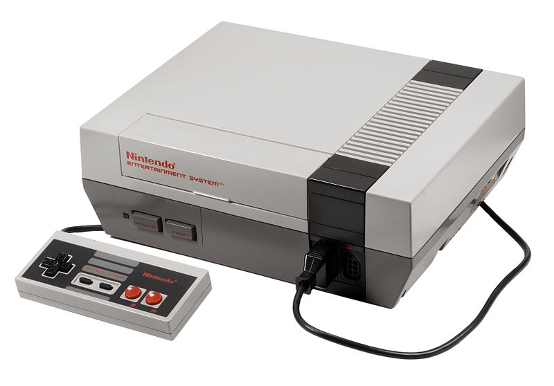 NES WITH CONTROLLER