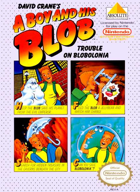 A Boy and His Blob for the NES