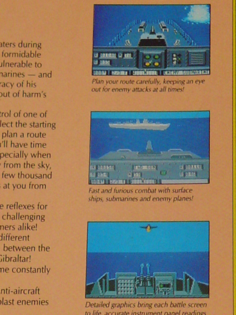 Destroyer Escort for the Commodore 64