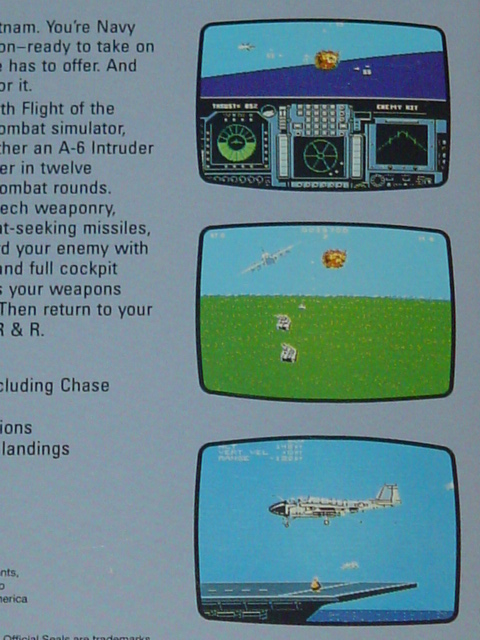 Flight of the Intruder for the NES